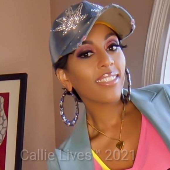 Callie Lives Jewelry - Callie Bamboo: Bling 80s Earrings